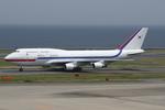 SKYLINEさんが、羽田空港で撮影した大韓民国空軍 747-4B5の航空フォト(飛行機 写真・画像)