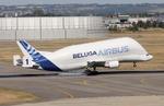 Hikobouzさんが、トゥールーズ・ブラニャック空港で撮影したエアバス・トランスポート・インターナショナル A300B4-608STの航空フォト(飛行機 写真・画像)