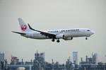 パンダさんが、羽田空港で撮影したJALエクスプレス 737-846の航空フォト(写真)