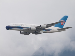鷹71さんが、香港国際空港で撮影した中国南方航空 A380-841の航空フォト(飛行機 写真・画像)