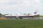 matsuさんが、成田国際空港で撮影したマレーシア航空 A330-322の航空フォト(写真)