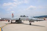 アカゆこさんが、台北松山空港で撮影した中華民国空軍 F-5F Tiger IIの航空フォト(飛行機 写真・画像)