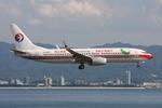 WING_ACEさんが、関西国際空港で撮影した中国東方航空 737-8HXの航空フォト(飛行機 写真・画像)