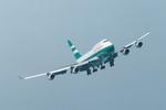 SKYLINEさんが、啓徳空港で撮影したキャセイパシフィック航空 747-467の航空フォト(飛行機 写真・画像)