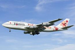 名古屋空港 - Nagoya International Airport [NGO/RJNN]で撮影されたJALウェイズ - JALways [JO/JAZ]の航空機写真