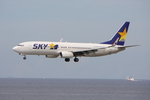 WING_ACEさんが、那覇空港で撮影したスカイマーク 737-86Nの航空フォト(飛行機 写真・画像)