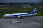 パンダさんが、仙台空港で撮影した全日空 767-381の航空フォト(写真)