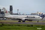 mojioさんが、成田国際空港で撮影したジェット・アジア・エアウェイズ 767-246の航空フォト(飛行機 写真・画像)