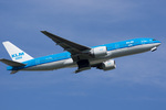 xxxxxzさんが、成田国際空港で撮影したKLMオランダ航空 777-206/ERの航空フォト(飛行機 写真・画像)