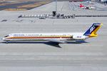 Scotchさんが、中部国際空港で撮影した日本航空 MD-81 (DC-9-81)の航空フォト(飛行機 写真・画像)