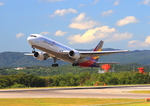 ふじいあきらさんが、広島空港で撮影したアシアナ航空 767-38Eの航空フォト(飛行機 写真・画像)