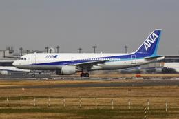 エアポートひたちさんが、成田国際空港で撮影した全日空 A320-214の航空フォト(飛行機 写真・画像)