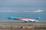 SKYLINEさんが、羽田空港で撮影した日本エアシステム MD-90-30の航空フォト(飛行機 写真・画像)