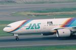 SKYLINEさんが、羽田空港で撮影した日本エアシステム 777-289の航空フォト(飛行機 写真・画像)