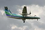 アイスコーヒーさんが、福岡空港で撮影したオリエンタルエアブリッジ DHC-8-201Q Dash 8の航空フォト(写真)