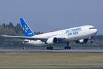Scotchさんが、鹿児島空港で撮影したスカイマーク 767-36N/ERの航空フォト(飛行機 写真・画像)
