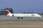 Scotchさんが、鹿児島空港で撮影した日本航空 MD-90-30の航空フォト(飛行機 写真・画像)