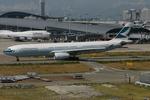 アイスコーヒーさんが、関西国際空港で撮影したキャセイパシフィック航空 A330-343Xの航空フォト(飛行機 写真・画像)