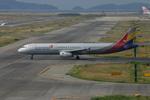 アイスコーヒーさんが、関西国際空港で撮影したアシアナ航空 A321-231の航空フォト(飛行機 写真・画像)