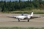 info-skyさんが、秋田空港で撮影した航空大学校 Baron G58の航空フォト(写真)