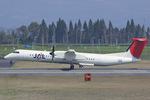Scotchさんが、鹿児島空港で撮影した日本エアコミューター DHC-8-402Q Dash 8の航空フォト(飛行機 写真・画像)