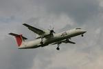 アイスコーヒーさんが、福岡空港で撮影した日本エアコミューター DHC-8-402Q Dash 8の航空フォト(写真)