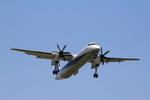 ふじいあきらさんが、福岡空港で撮影したANAウイングス DHC-8-402Q Dash 8の航空フォト(写真)