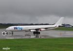 mojioさんが、静岡空港で撮影したハイフライ航空 A340-313Xの航空フォト(飛行機 写真・画像)