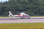 ふじいあきらさんが、広島空港で撮影した広島市消防航空隊 AS365N3 Dauphin 2の航空フォト(写真)