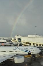snow_shinさんが、オークランド空港で撮影したニュージーランド航空 777-219/ERの航空フォト(写真)