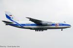 Chofu Spotter Ariaさんが、厚木飛行場で撮影したヴォルガ・ドニエプル航空 An-124-100 Ruslanの航空フォト(飛行機 写真・画像)
