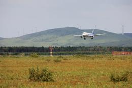 もんたろうさんが、稚内空港で撮影した全日空 A320-211の航空フォト(飛行機 写真・画像)