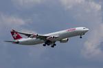 xxxxxzさんが、成田国際空港で撮影したスイスインターナショナルエアラインズ A340-313Xの航空フォト(飛行機 写真・画像)