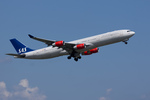 xxxxxzさんが、成田国際空港で撮影したスカンジナビア航空 A340-313Xの航空フォト(写真)
