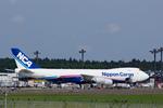 xxxxxzさんが、成田国際空港で撮影した日本貨物航空 747-8KZF/SCDの航空フォト(飛行機 写真・画像)