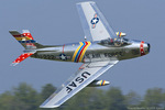 Scotchさんが、オシアナ海軍航空基地アポロソーセックフィールドで撮影したFlying Fossiles LLC. CL-13A Sabre 5の航空フォト(写真)