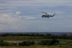 もんたろうさんが、波照間空港で撮影した三井物産エアロスペース AW139の航空フォト(写真)