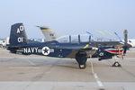 Scotchさんが、オシアナ海軍航空基地アポロソーセックフィールドで撮影したアメリカ海軍 T-34C Turbo Mentorの航空フォト(写真)