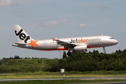 Kinyaさんが、成田国際空港で撮影したジェットスター A320-232の航空フォト(飛行機 写真・画像)