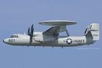 Scotchさんが、オシアナ海軍航空基地アポロソーセックフィールドで撮影したアメリカ海軍 E-2C Hawkeyeの航空フォト(飛行機 写真・画像)