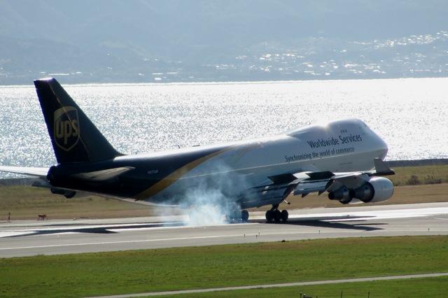 山河 彩さんが、関西国際空港で撮影したUPS航空 747-44AF/SCDの航空フォト(飛行機 写真・画像)