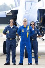 Scotchさんが、オシアナ海軍航空基地アポロソーセックフィールドで撮影したアメリカ海軍 - United States Navy, Flight Demonstration Squadron, Blue Angelsの航空フォト(写真)