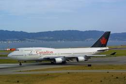 jk3yhgさんが、関西国際空港で撮影したカナディアン航空 747-475の航空フォト(飛行機 写真・画像)