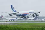 うえぽんさんが、成田国際空港で撮影した日本貨物航空 747-8KZF/SCDの航空フォト(写真)