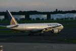 アイスコーヒーさんが、成田国際空港で撮影したユナイテッド航空 777-222/ERの航空フォト(飛行機 写真・画像)