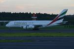 アイスコーヒーさんが、成田国際空港で撮影したエミレーツ航空 A380-861の航空フォト(写真)