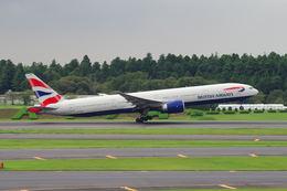うえぽんさんが、成田国際空港で撮影したブリティッシュ・エアウェイズ 777-36N/ERの航空フォト(写真)