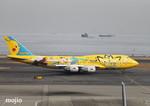 mojioさんが、羽田空港で撮影した全日空 747-481(D)の航空フォト(飛行機 写真・画像)