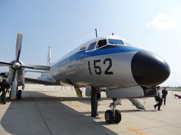 yhさんが、米子空港で撮影した航空自衛隊 YS-11A-402Pの航空フォト(飛行機 写真・画像)