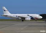 mojioさんが、静岡空港で撮影したフォルクスワーゲン エアサービス A319-133X CJの航空フォト(飛行機 写真・画像)